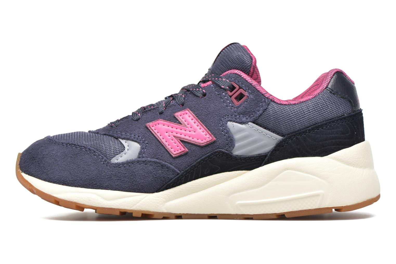 Sneakers New Balance KL580 J Grigio immagine frontale