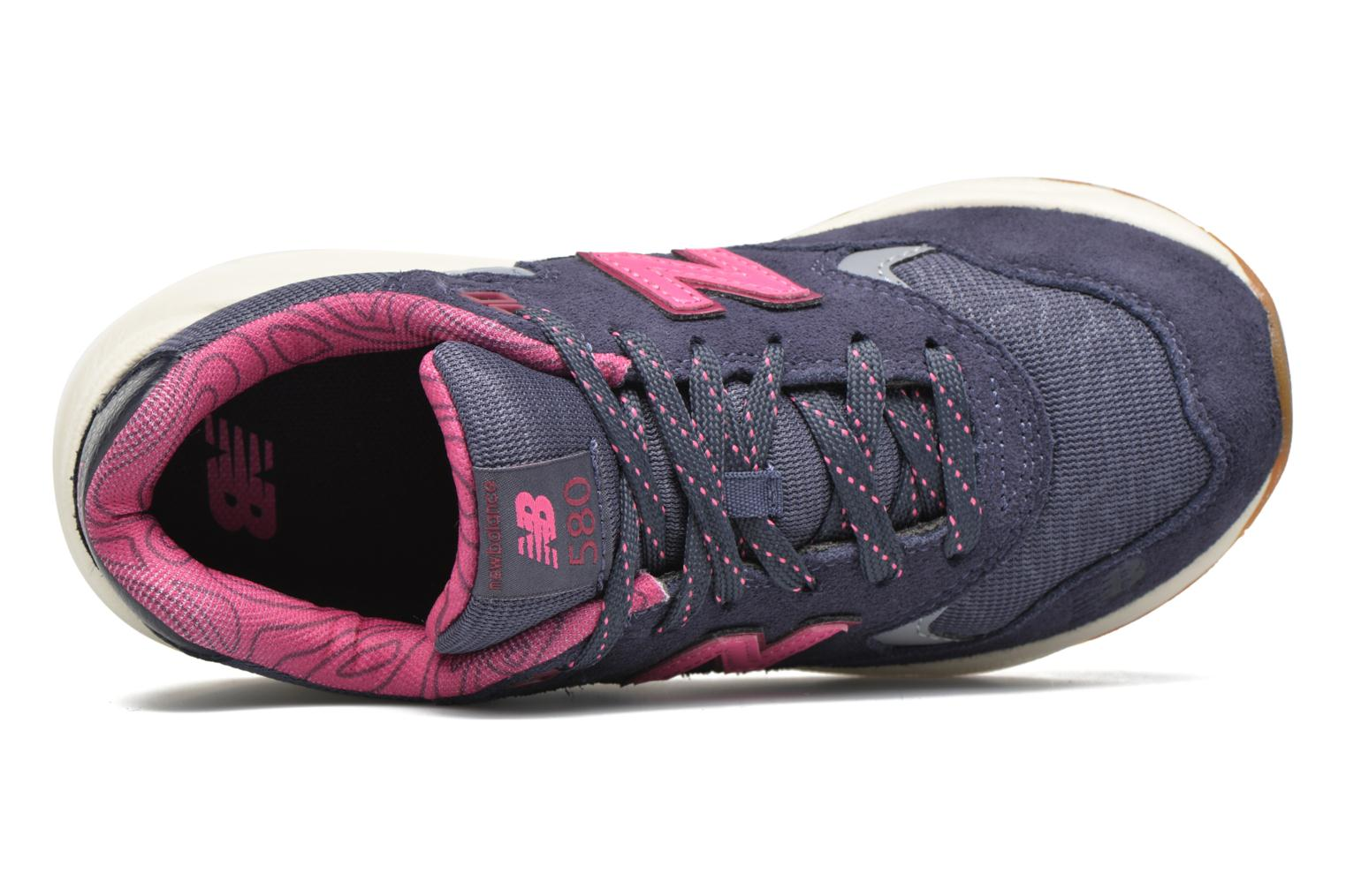 Sneakers New Balance KL580 J Grigio immagine sinistra