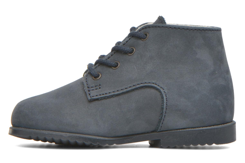 Bottines et boots Little Mary Milocho Bleu vue face