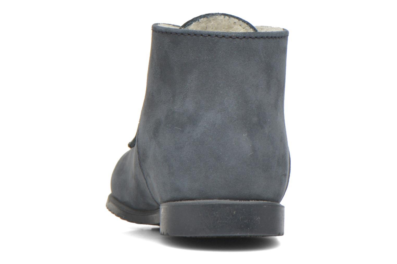Bottines et boots Little Mary Milocho Bleu vue droite
