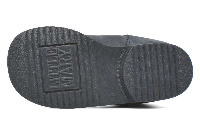 Bottines et boots Little Mary Milocho Bleu vue haut