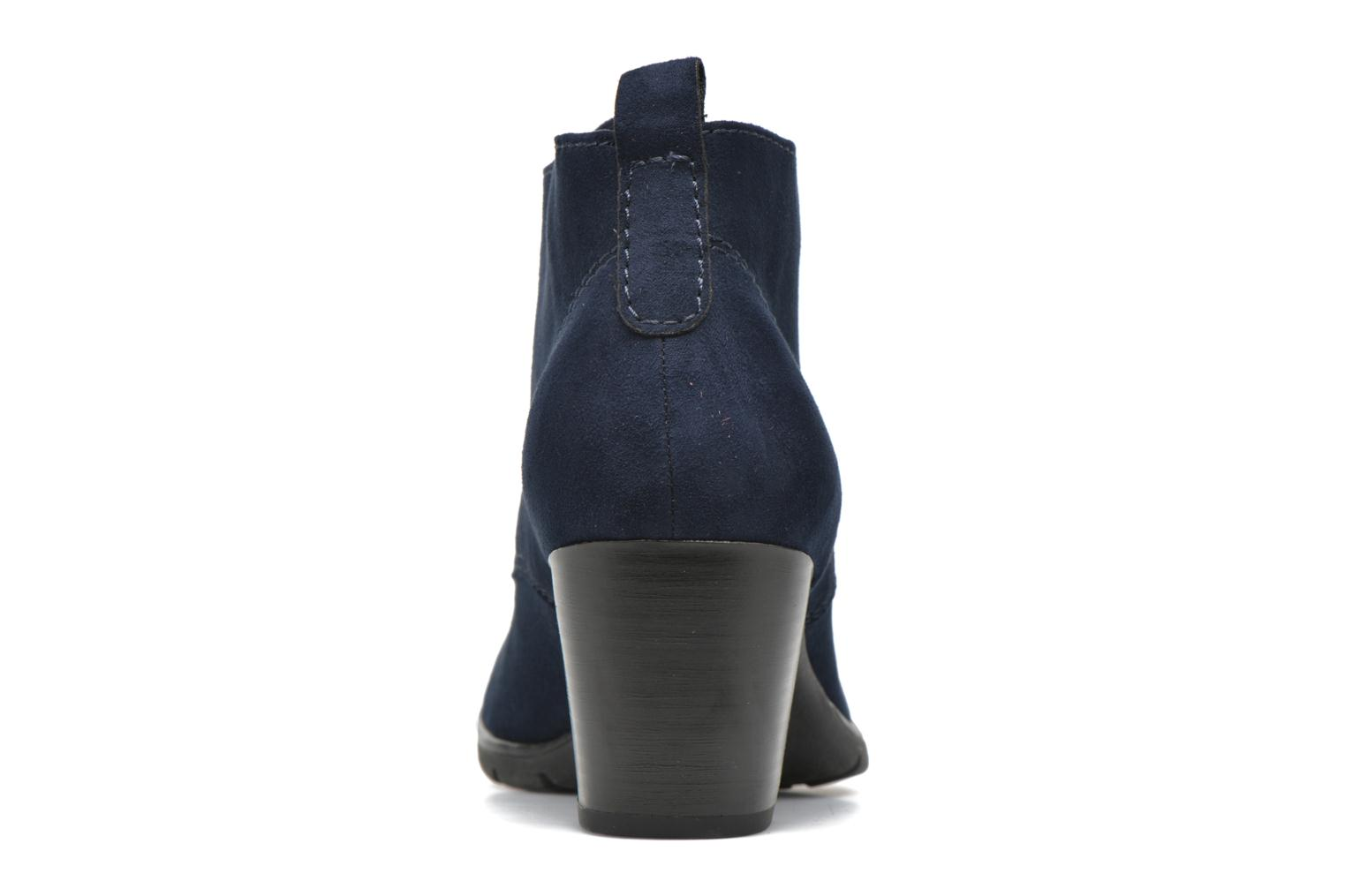 Ankle boots Marco Tozzi Ace 2 Blue view from the right