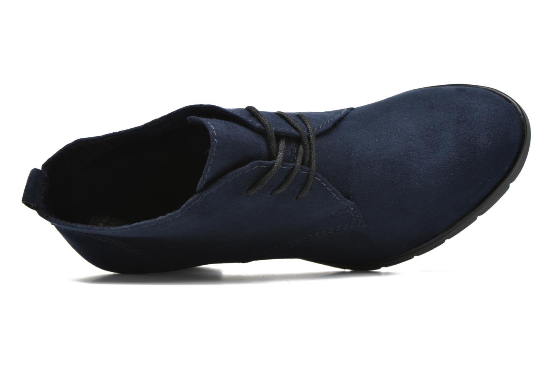 Bottines et boots Marco Tozzi Ace 2 Bleu vue gauche