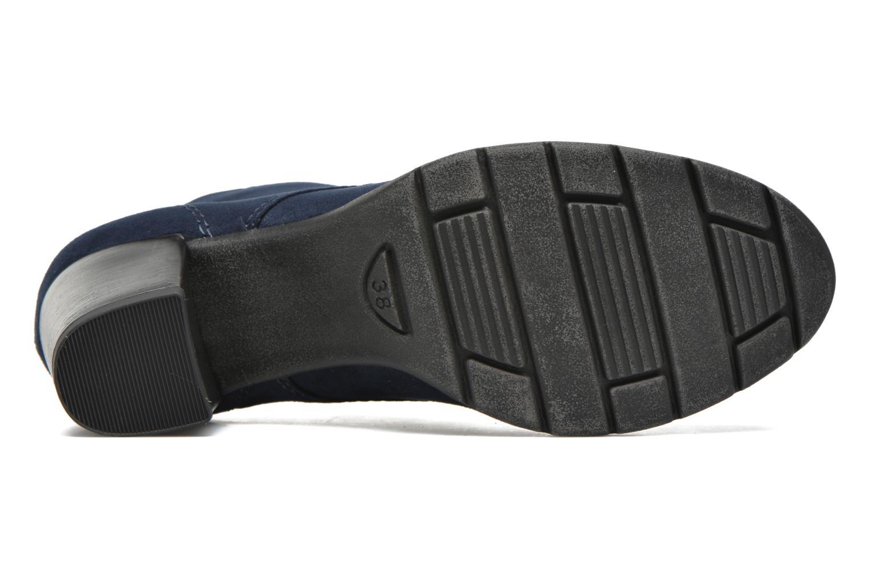 Bottines et boots Marco Tozzi Ace 2 Bleu vue haut