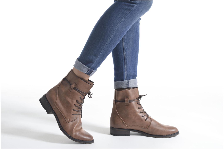 Bottines et boots Marco Tozzi Flora 2 Gris vue bas / vue portée sac