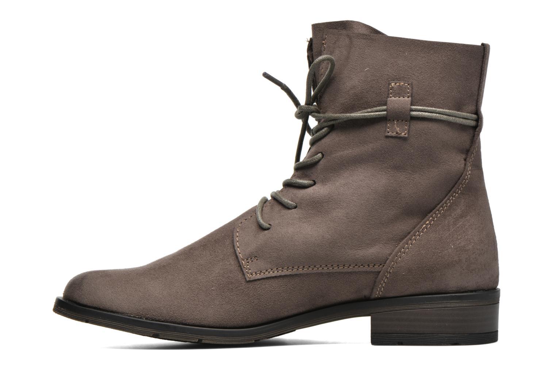 Bottines et boots Marco Tozzi Flora 2 Gris vue face
