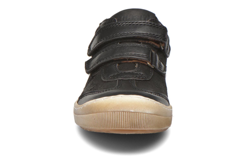 Baskets Bisgaard Ole Noir vue portées chaussures