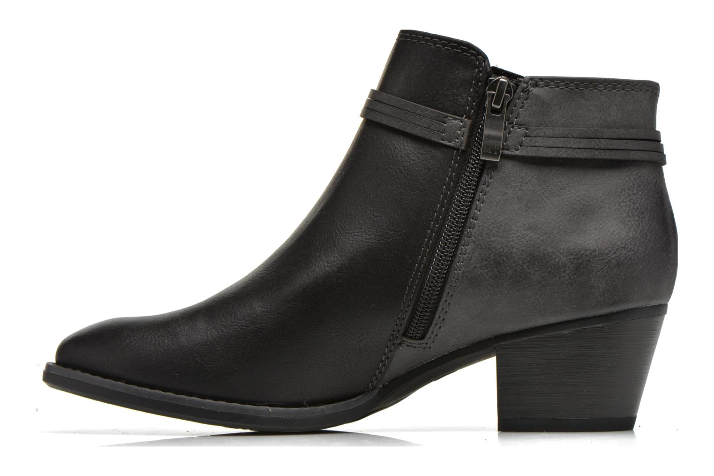 Bottines et boots Marco Tozzi Girelle Noir vue face