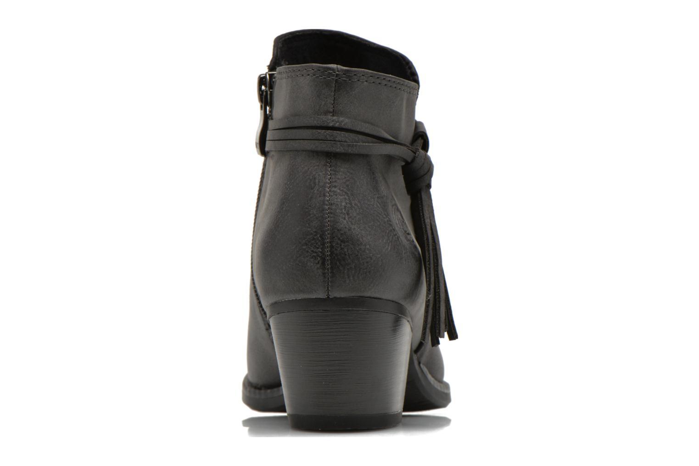 Bottines et boots Marco Tozzi Girelle Noir vue droite
