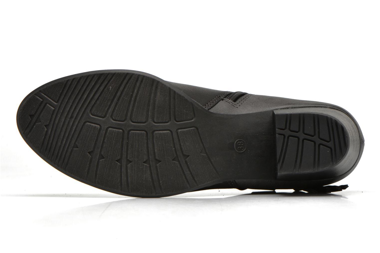 Bottines et boots Marco Tozzi Girelle Noir vue haut