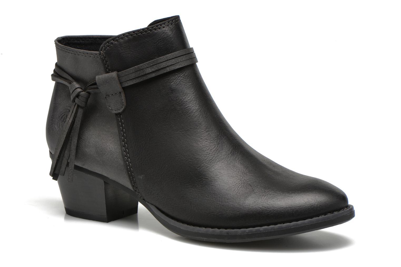 Bottines et boots Marco Tozzi Girelle Noir vue détail/paire