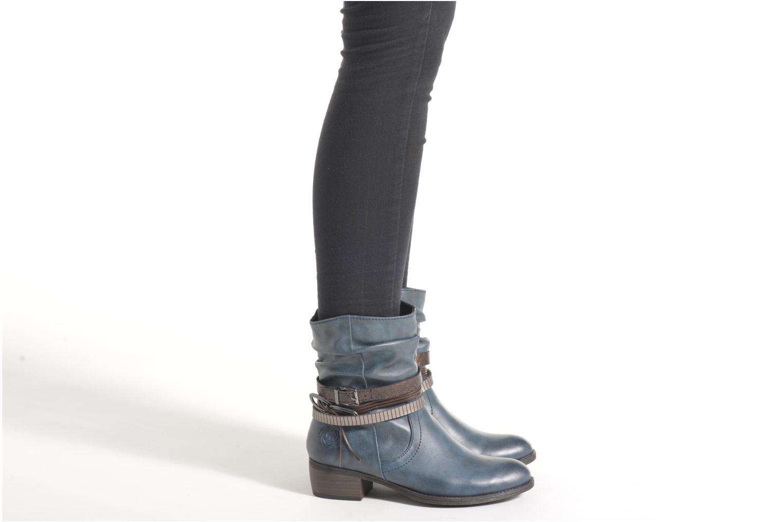 Bottines et boots Marco Tozzi Guppy Marron vue bas / vue portée sac