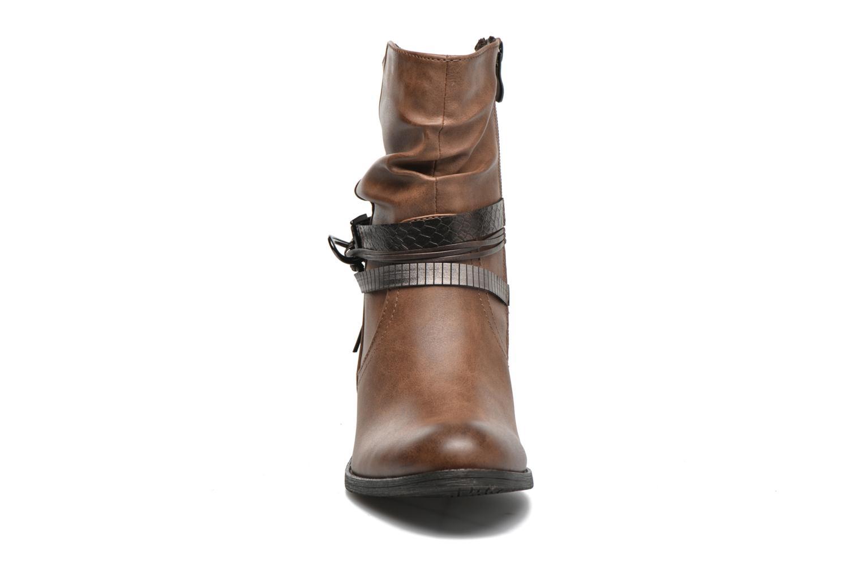 Bottines et boots Marco Tozzi Guppy Marron vue portées chaussures