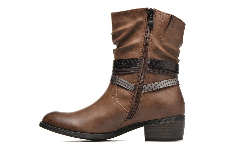 Bottines et boots Marco Tozzi Guppy Marron vue face