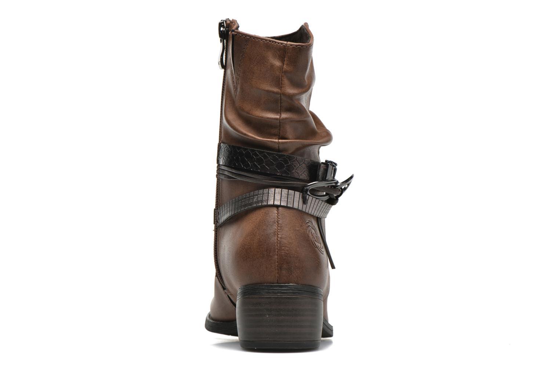 Bottines et boots Marco Tozzi Guppy Marron vue droite