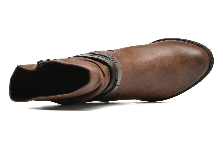 Bottines et boots Marco Tozzi Guppy Marron vue gauche