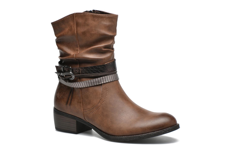 Bottines et boots Marco Tozzi Guppy Marron vue détail/paire