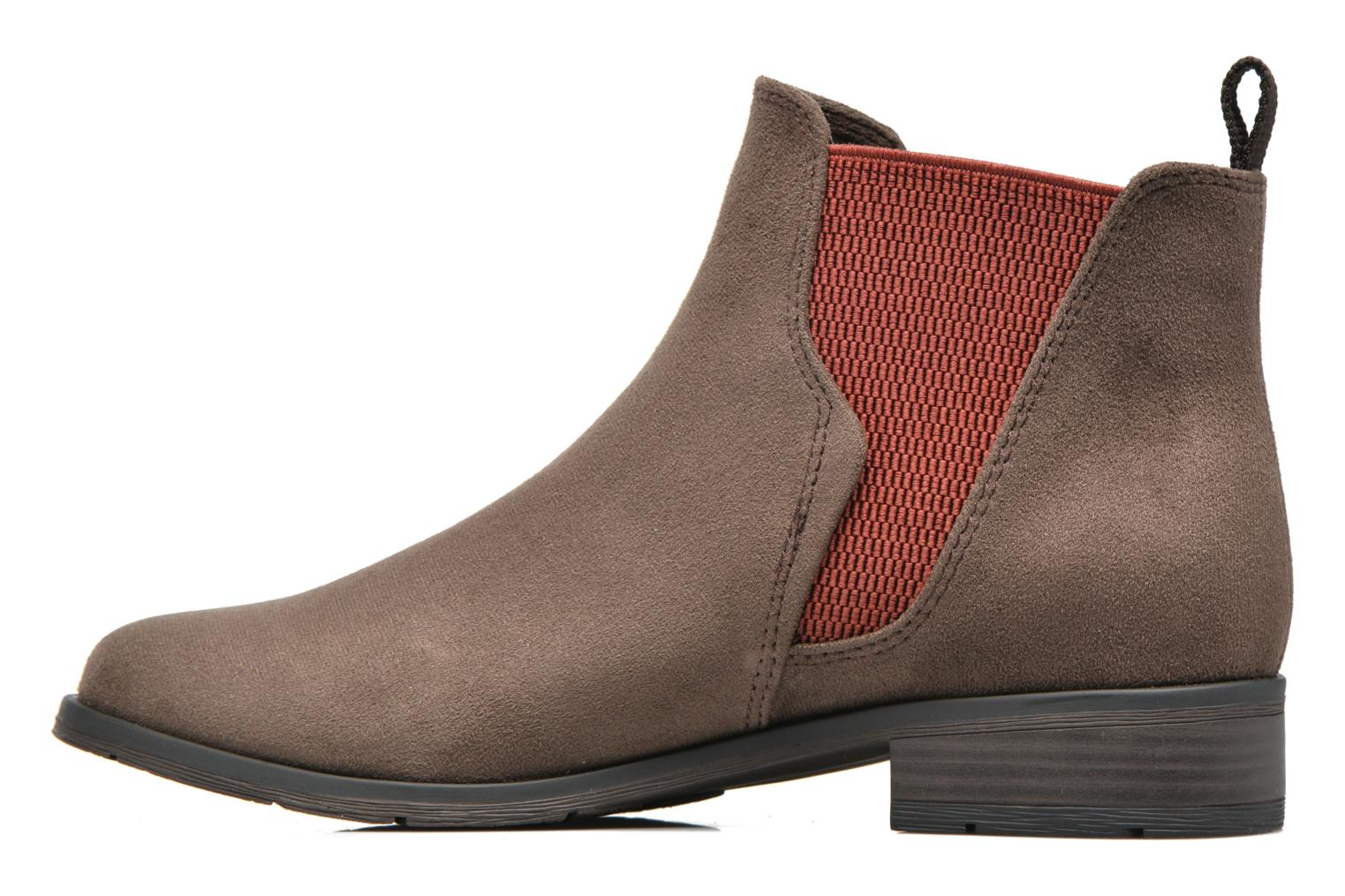 Ankle boots Marco Tozzi Hotu Brown front view
