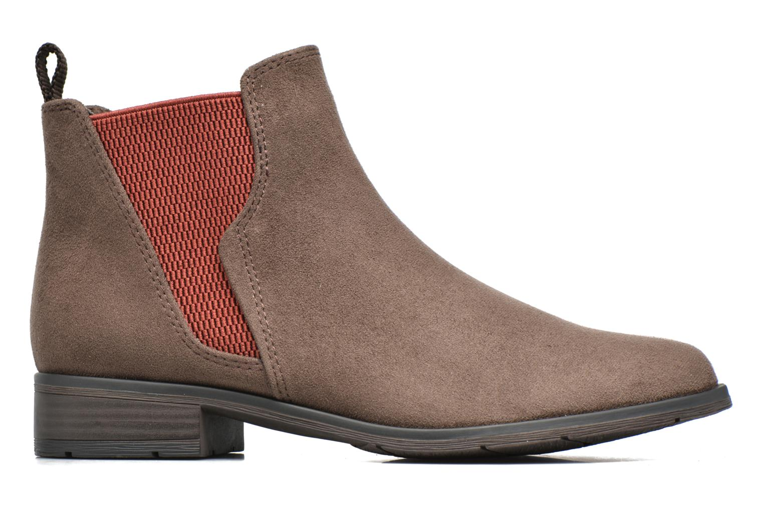 Ankle boots Marco Tozzi Hotu Brown back view