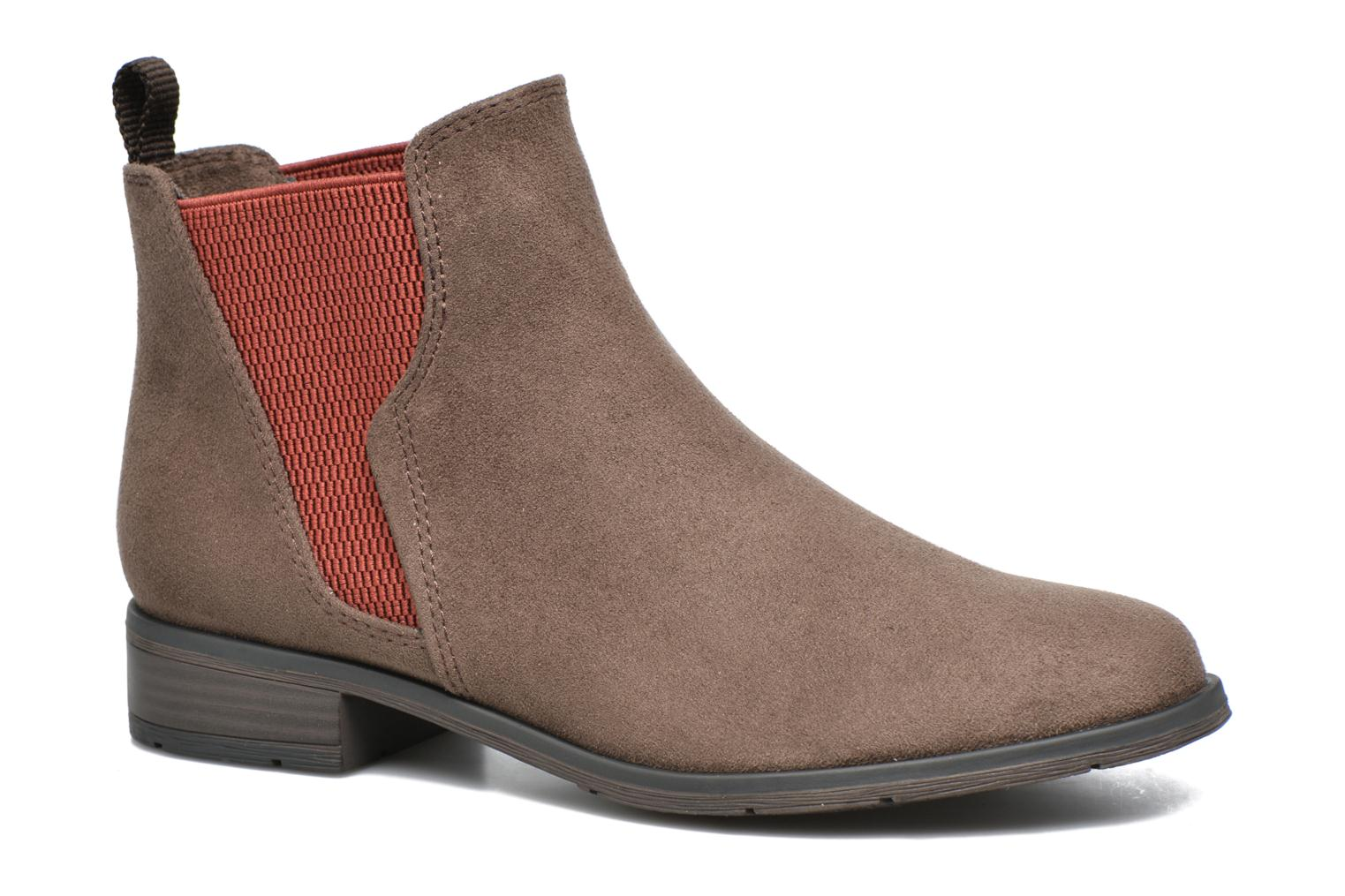 Ankle boots Marco Tozzi Hotu Brown detailed view/ Pair view