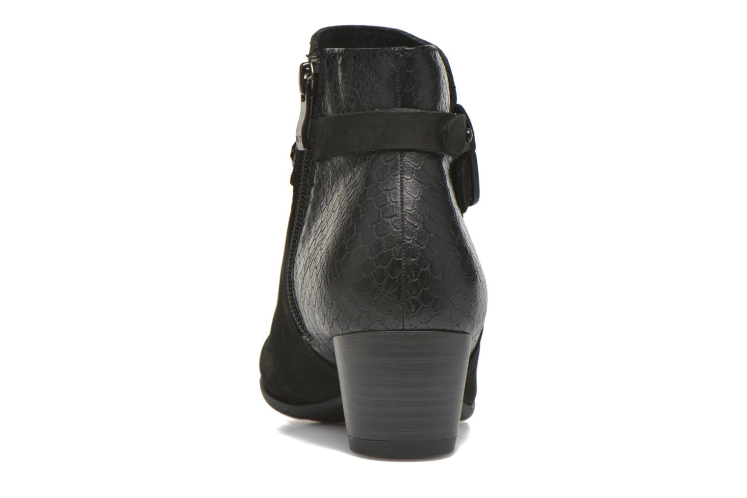 Ankle boots Marco Tozzi Muge Black view from the right