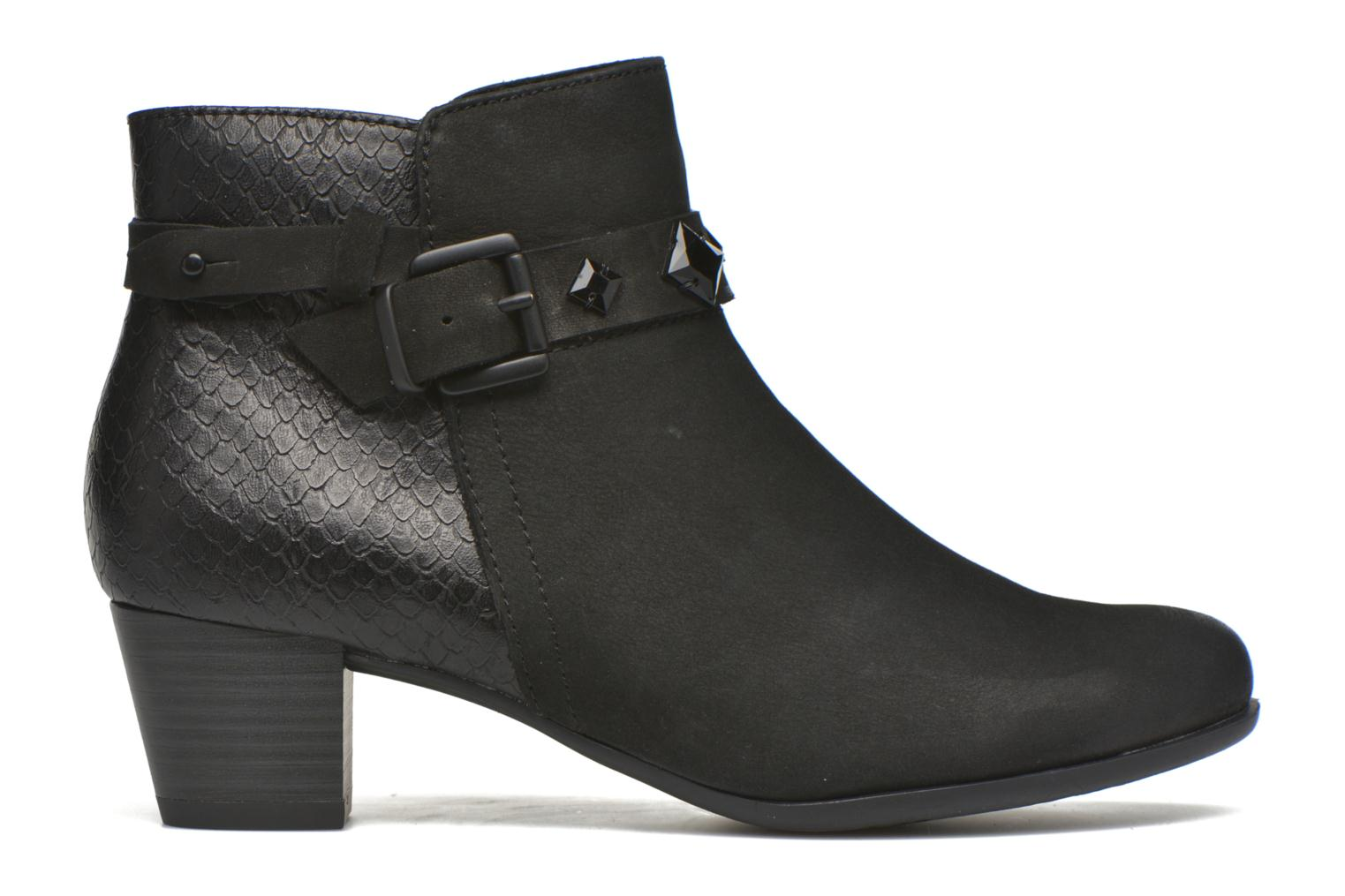 Ankle boots Marco Tozzi Muge Black back view