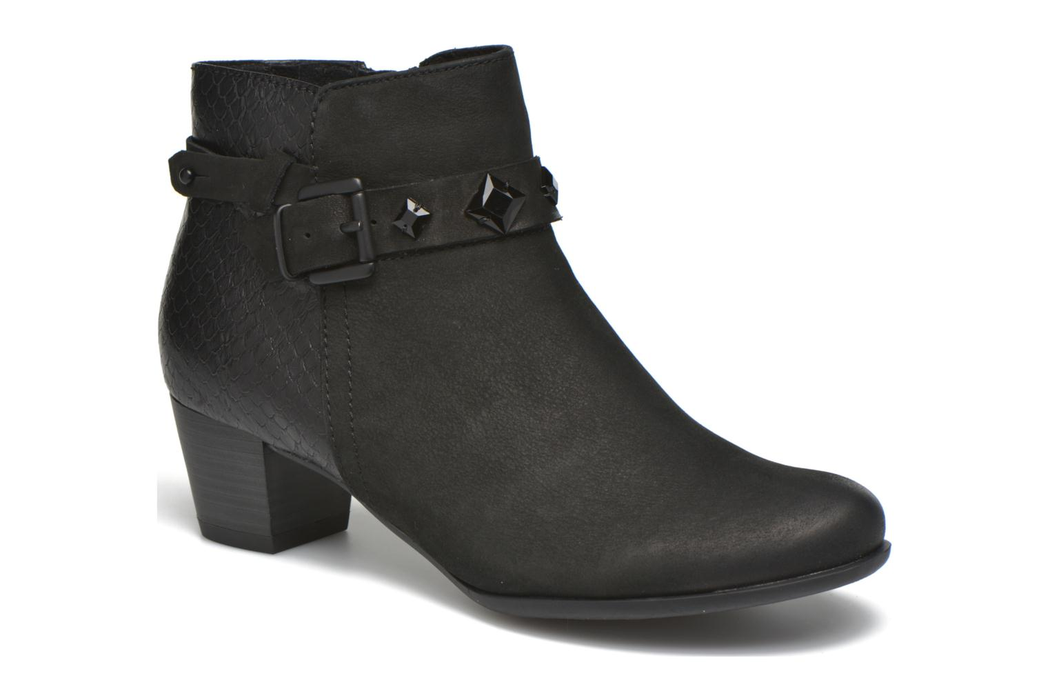 Ankle boots Marco Tozzi Muge Black detailed view/ Pair view