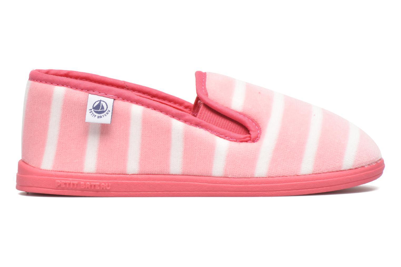 Hausschuhe Petit bateau PB Gretel Rose rosa ansicht von hinten