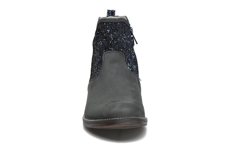 Stivaletti e tronchetti Minibel Lunela Azzurro modello indossato