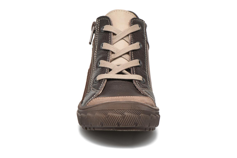 Baskets Minibel Ludovik Marron vue portées chaussures