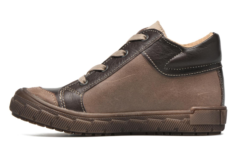 Sneaker Minibel Ludovik braun ansicht von vorne
