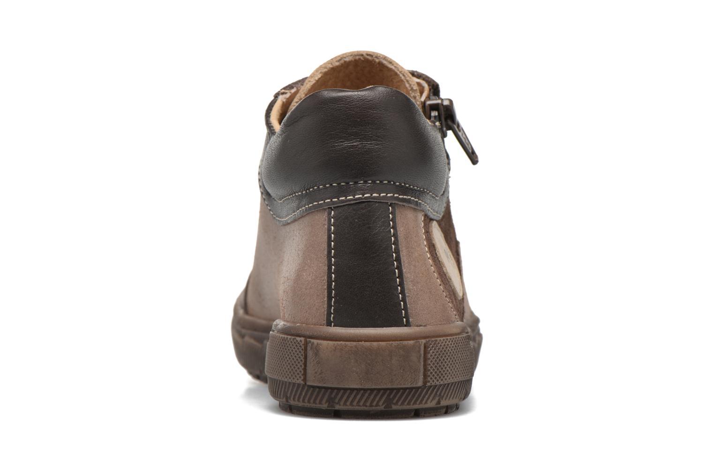 Sneaker Minibel Ludovik braun ansicht von rechts