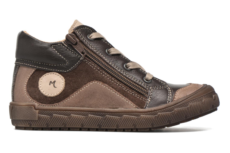 Sneaker Minibel Ludovik braun ansicht von hinten