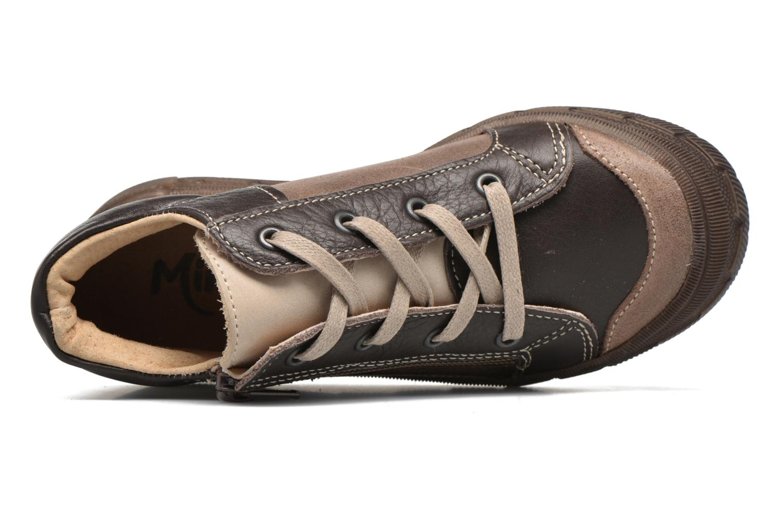 Sneaker Minibel Ludovik braun ansicht von links