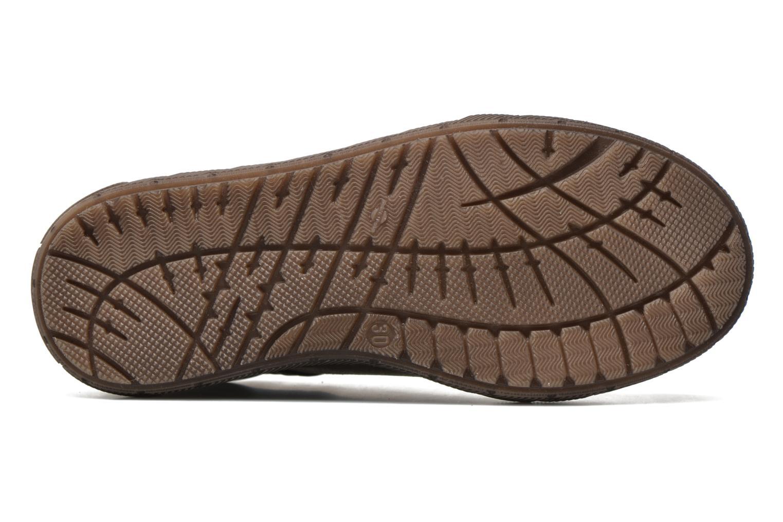 Sneaker Minibel Ludovik braun ansicht von oben