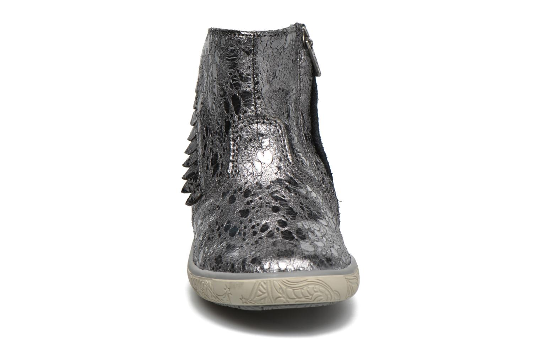 Ankle boots Noël Mini Amel Grey model view
