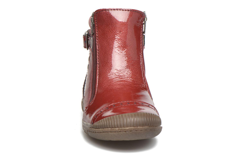 Bottines et boots Noël Pilar Bordeaux vue portées chaussures