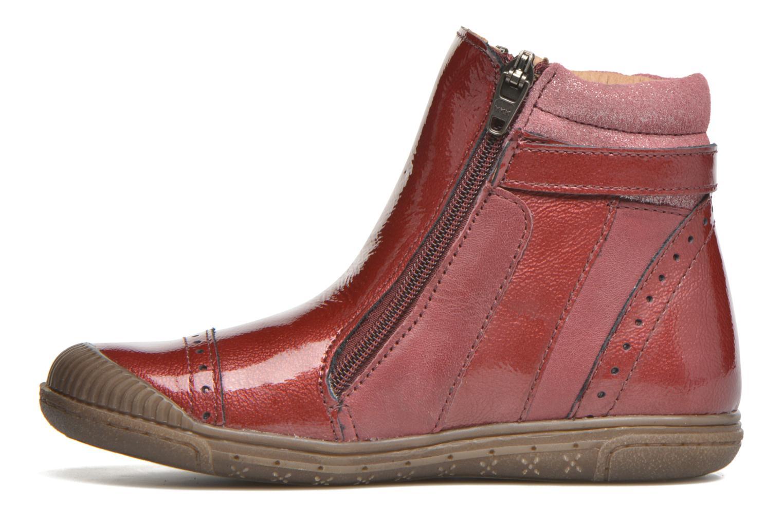 Bottines et boots Noël Pilar Bordeaux vue face