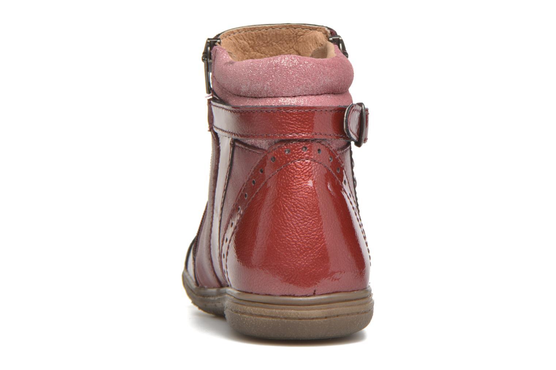 Bottines et boots Noël Pilar Bordeaux vue droite