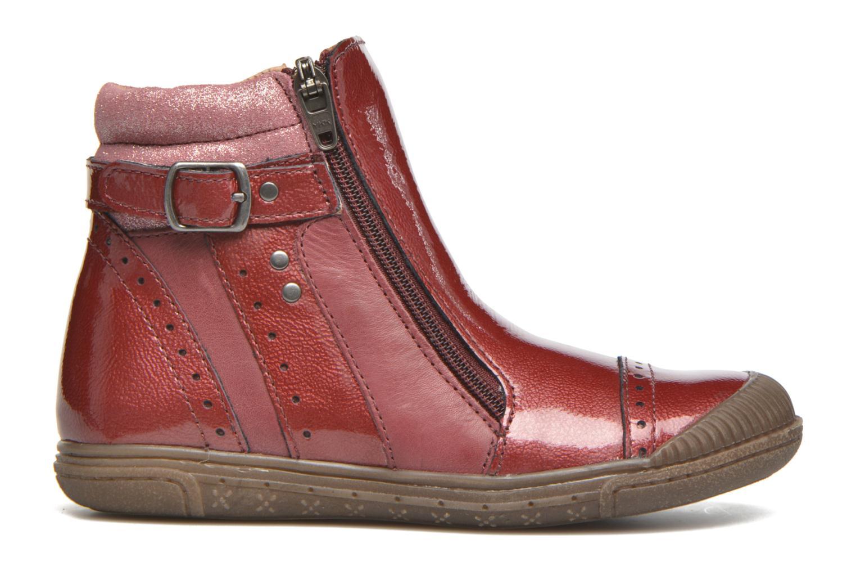 Bottines et boots Noël Pilar Bordeaux vue derrière