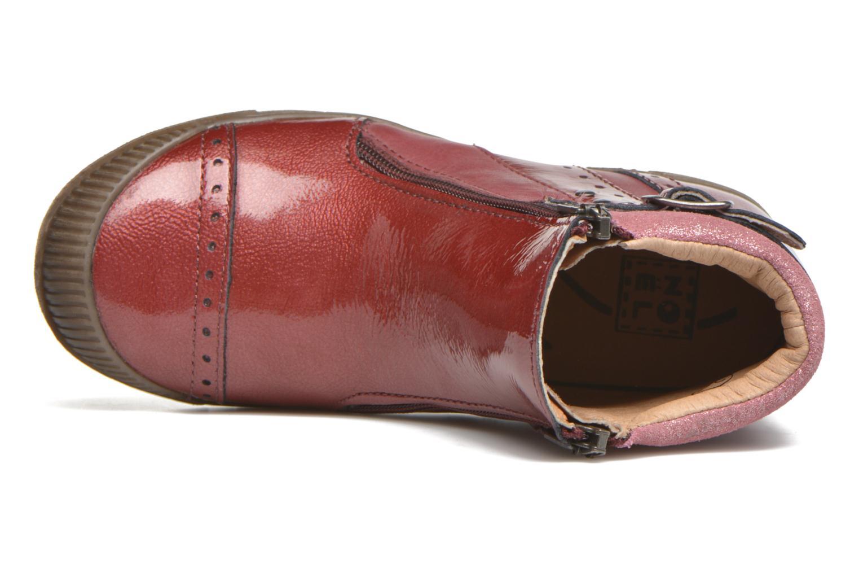 Bottines et boots Noël Pilar Bordeaux vue gauche