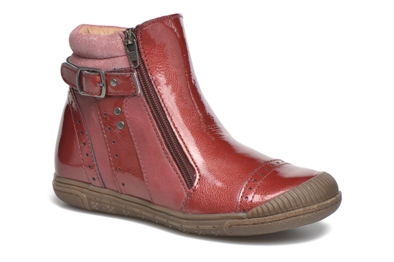 Bottines et boots Noël Pilar Bordeaux vue détail/paire