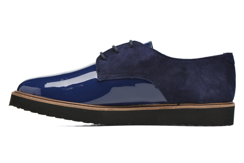 Chaussures à lacets Ippon Vintage James smart Bleu vue face