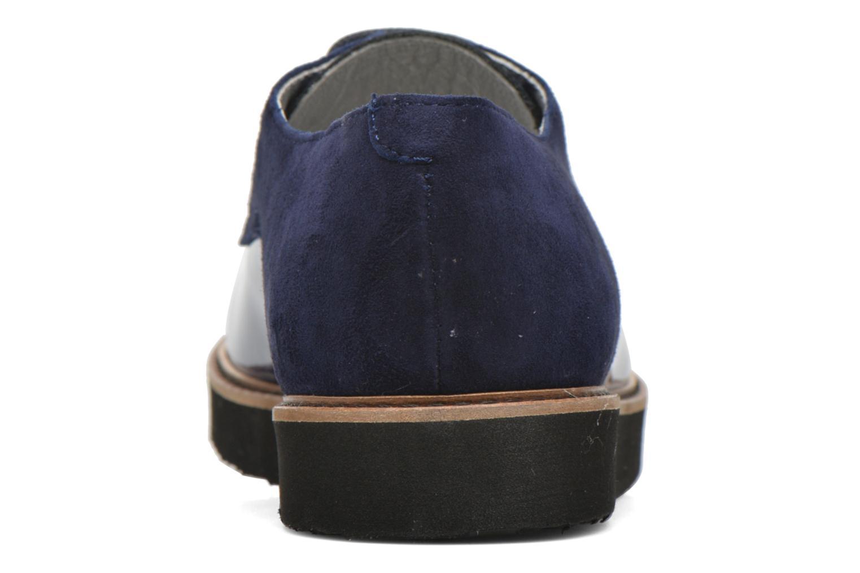 Chaussures à lacets Ippon Vintage James smart Bleu vue droite