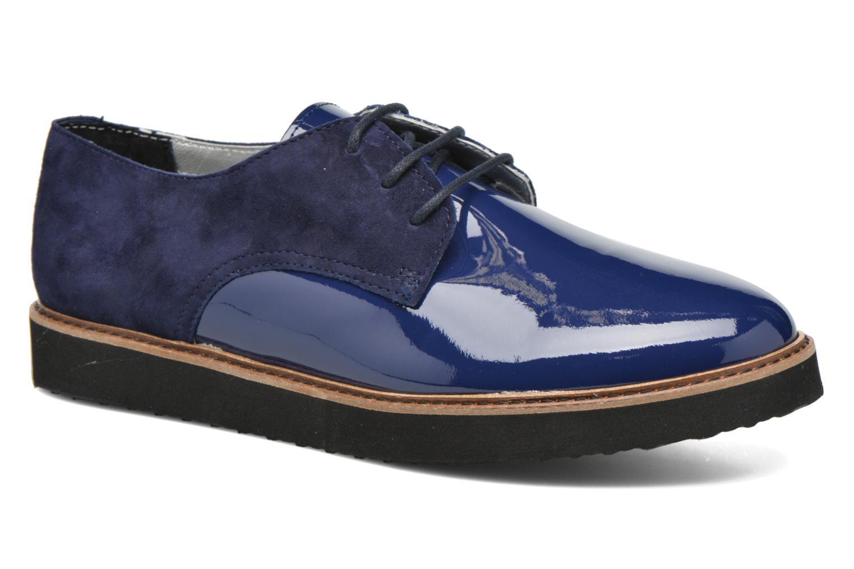 Chaussures à lacets Ippon Vintage James smart Bleu vue détail/paire