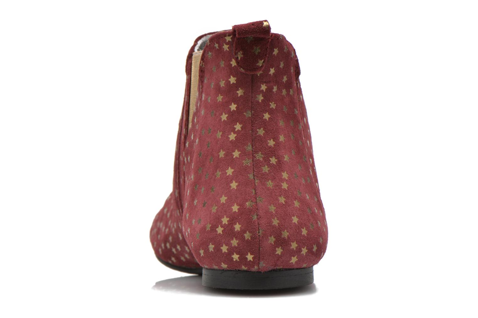 Ankle boots Ippon Vintage Patch gold Burgundy view from the right