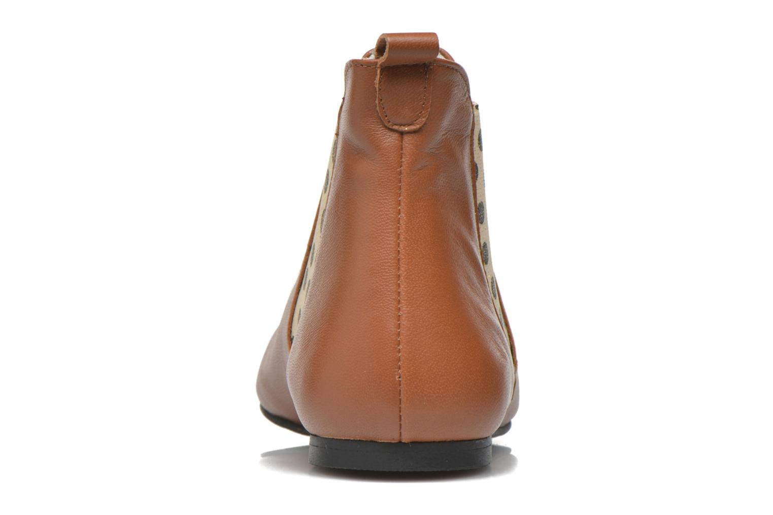 Ankle boots Ippon Vintage Sun Colors Brown view from the right