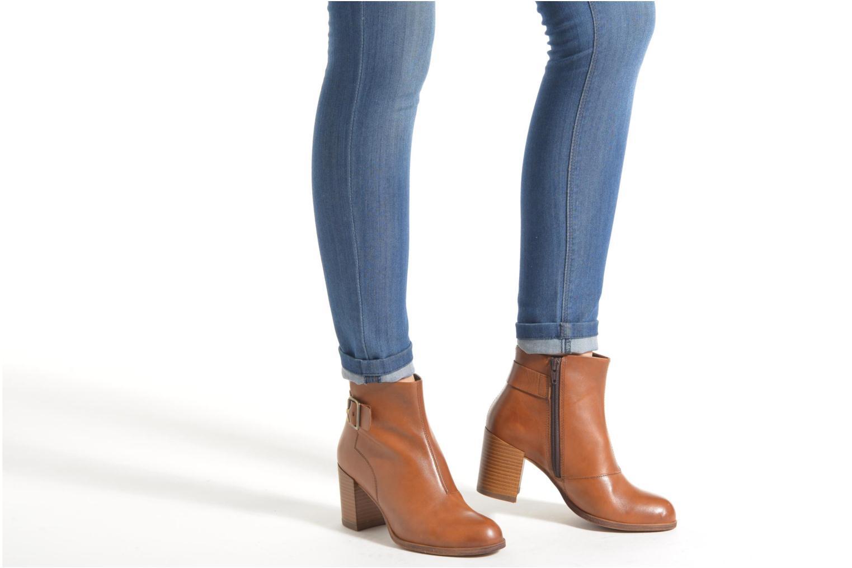 Bottines et boots Vagabond ANNA 4221-101 Noir vue bas / vue portée sac
