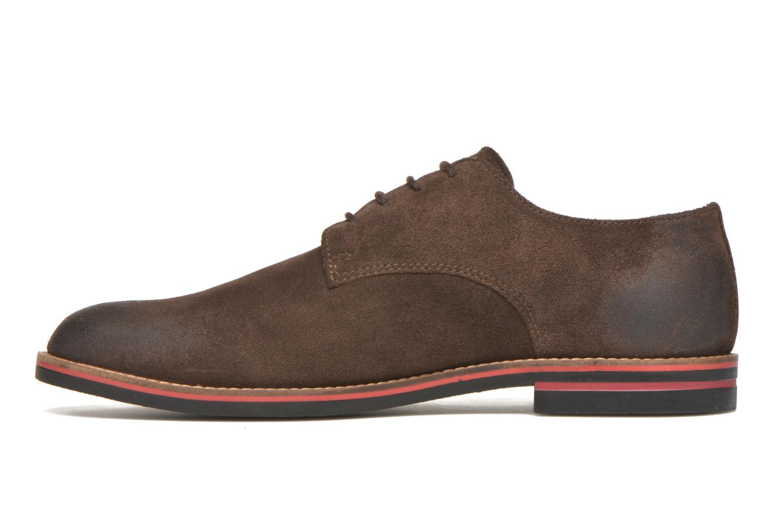 Zapatos con cordones Kickers Eldan Marrón vista de frente
