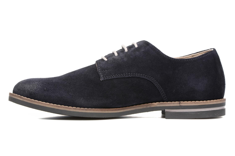 Chaussures à lacets Kickers Eldan Bleu vue face